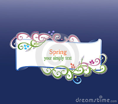 Spring and summer vector