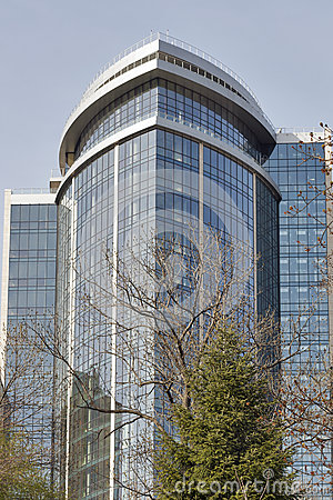 Spring tree and hotel hilton in kiev ukraine editorial for What hotel chains does hilton own