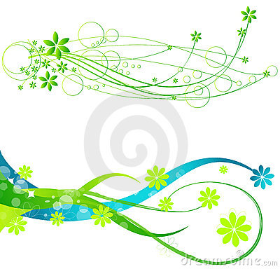 Free Spring Web Banners Stock Photo - 13624680