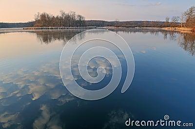 Spring, Whitford Lake