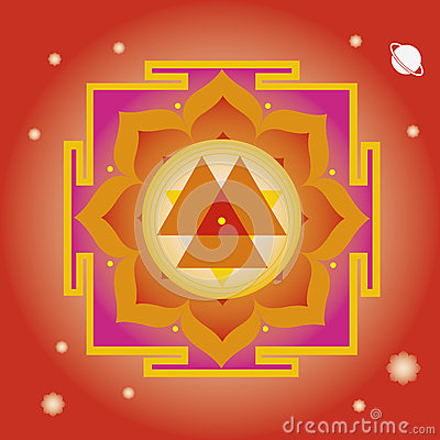 Spring yantra for  wellbeing