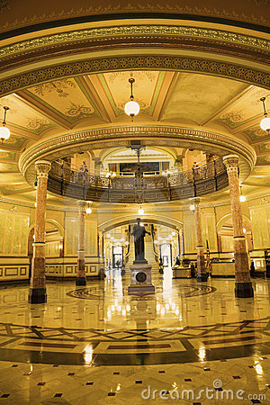Springfield, Illinois - interior of State Capitol