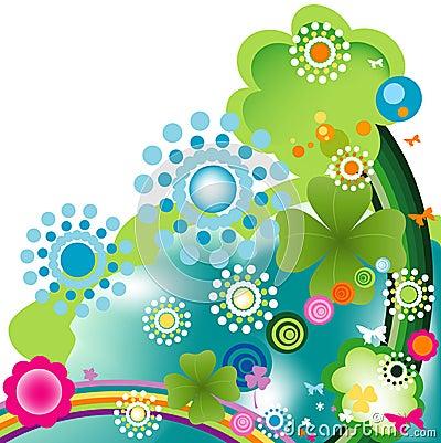 Springtime Vector Illustration