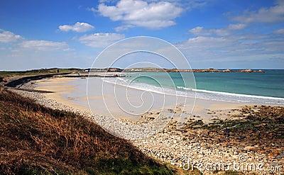 Springtime in the bay. Guernsey