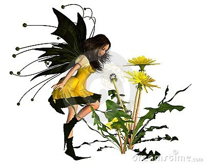 Springtime Dandelion Fairy