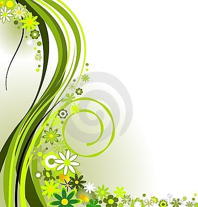 Free Springtime In Green Royalty Free Stock Image - 8853956