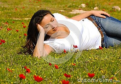 Springtime Serenity, enjoying nature