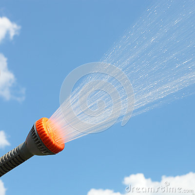 Free Sprinkle Spraying Stock Photography - 37645262