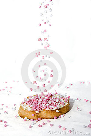 Free Sprinkled Biscuit Royalty Free Stock Images - 11033269