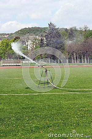 Sprinkler in the park