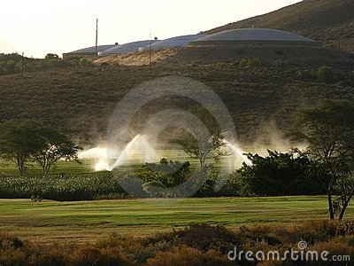 Sprinklers and reservoirs