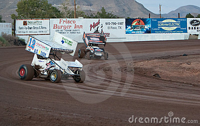 Sprint Car Racing Editorial Photography