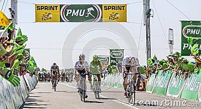 Sprint Editorial Stock Image