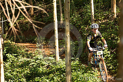 Sprogs class rider at Momentum Health Int Editorial Stock Image