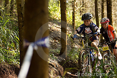 Sprogs class riders at Momentum Health Int Editorial Photography