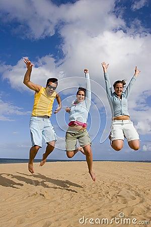 Sprong van vreugde