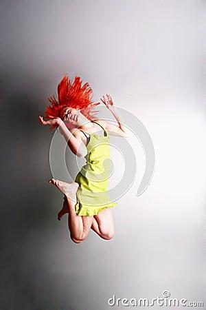 Sprong voor vreugde .....