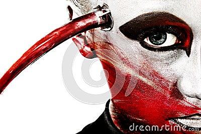 Sprostać obce artystyczne zamknięte kosmetyka