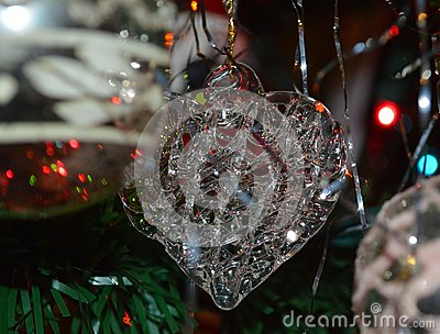 Spun Glass Ornament