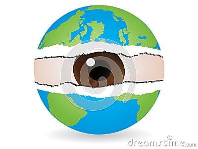 Spy the world