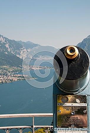 Spyglass on Como lake