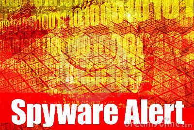 Spyware Alert Warning Message