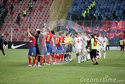 Squadra di Steaua Immagine Stock Editoriale