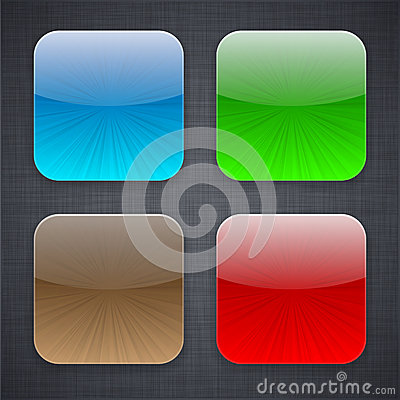 Square app template icons.