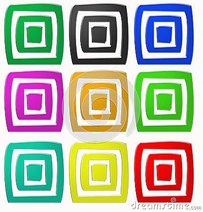 Square colors