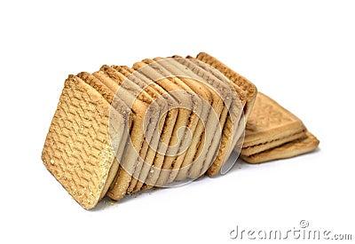 Square cookies
