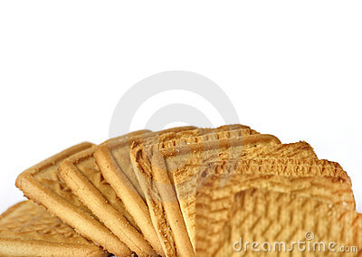 Square Cookies Stock Image - Image: 15014171