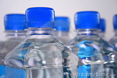 Square drinking water bottles
