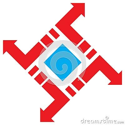Square emblem
