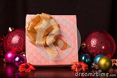 Square Gift Box Christmas