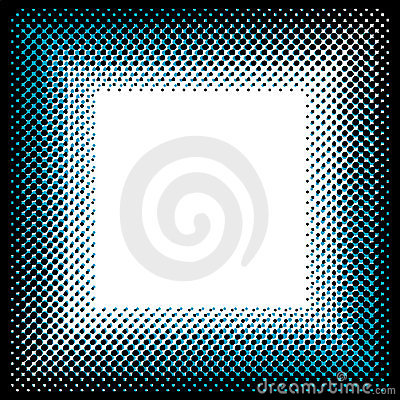 Square halftone pattern