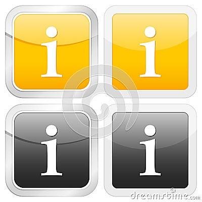 Square icon information