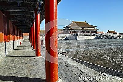 The square inside Forbidden City