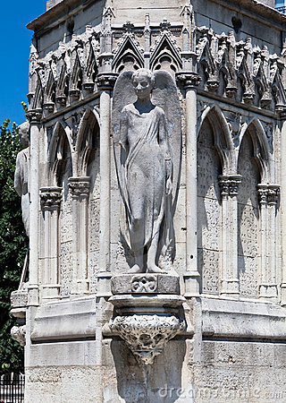 Square Jean XXIII Paris France