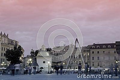 Square Krakow