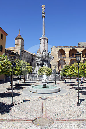 Square of San Rafael Triumph in Cordoba
