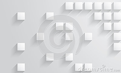 Square shape background