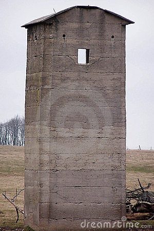 Square silo