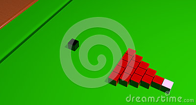 Impossible Snooker Balls