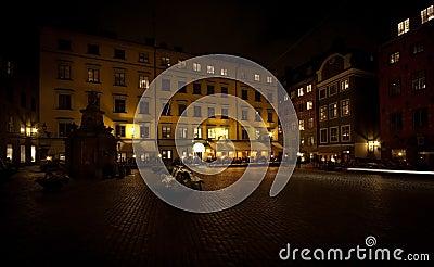 Square in Stockholm