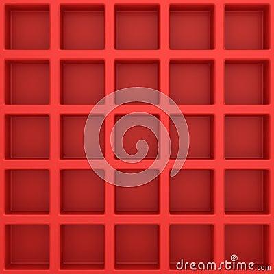 Square template