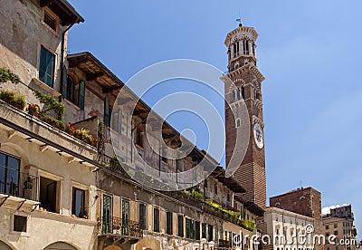 Square in Verona