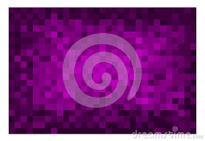 Square violet mosaic background