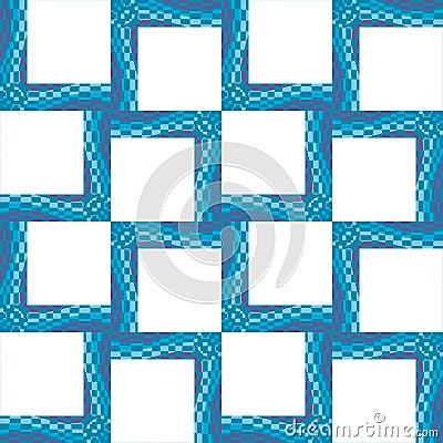 Square Wavy Frames
