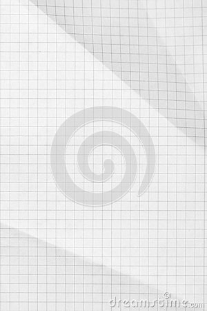 Squared sheet of paper background