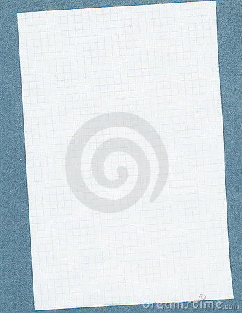Free Squared White Paper Stock Image - 22775671